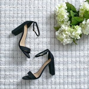 Brash Black Houston Strappy Heels